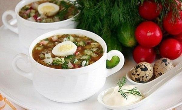 На заметочку: холодные летние супы: топ 5 рецептов